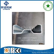 Seção de sigma de aço de laminagem a frio w purlin