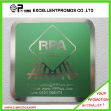 Coaster métallique personnalisé promotionnel de haute qualité (EP-C411311)