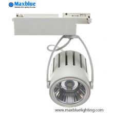 40W COB LED Track iluminação para iluminação LED