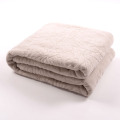 Zero Twist Softest Towel Blanket Plain Dyed