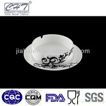 A003 High quality ceramic custom pocket cigarette ashtray