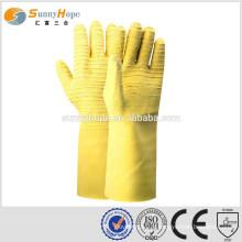 SUNNYHOPE gants de travail en coton trempé en latex