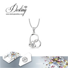 Destiny Jewellery Crystal From Swarovski Necklace Soulmate Pendant