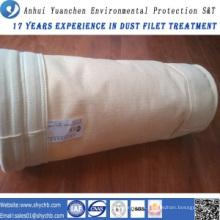 Saco de filtro não tecido do coletor de poeira de Nomex para o central eléctrica hidroelétrico