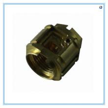 CNC-Bearbeitung Messing Rohrfitting für Hersteller