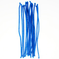 Hot selling color 20mm jumbo loopy chenille stems, curly chenille stem,Color chenille stem