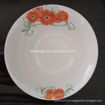 novo design salada tigela cerâmica atacado