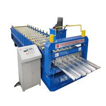 top selling aluminium roof profile making machine