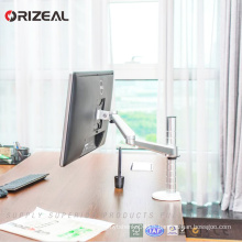 Orizeal Adjustable Aluminium Universal Computer Adjustable Single Monitor Bracket(OZ-OMM006)