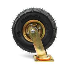 10 inch Heavy Duty Swivel  Galvanized Inflatable Casters Wheel