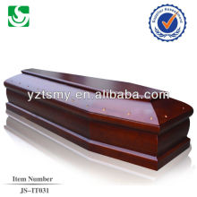 Лучшее качество Мемориал красного цвета шкатулка гроб
