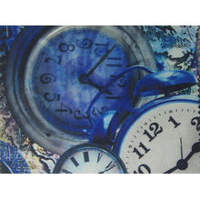 Tissu imprimé de Tableau d'horloge de polyester 900d avec le revêtement d'unité centrale / PVC
