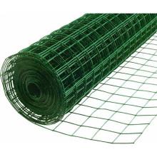 El PVC barato cubierto con malla de alambre soldado con autógena galvanizada