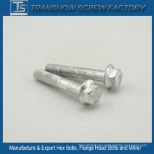 Tornillo de brida con revestimiento de acero de aleación de plata 10.9
