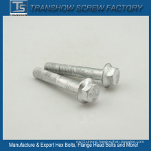 Alloy Steel Silver Coated Grade 10.9 Flange Bolt