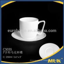 Eurohome bone china tee schalengröße einzigartiges design kaffeetasse und saucer