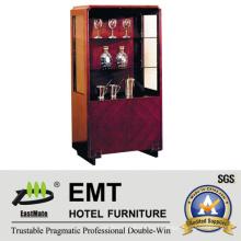 Gabinete de vinho decorativo popular de Hot Cabinet (EMT-DC07)