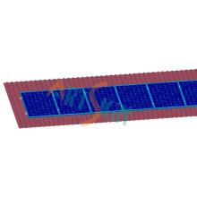 Montagem solar do telhado Home da arremetida