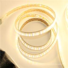 водонепроницаемый 2835 10мм затемнения теплый белый чистый белый светодиодные полосы освещения