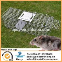 Клетка мышь складной капкан для Опоссума кошка Кролик Заяц Сурки
