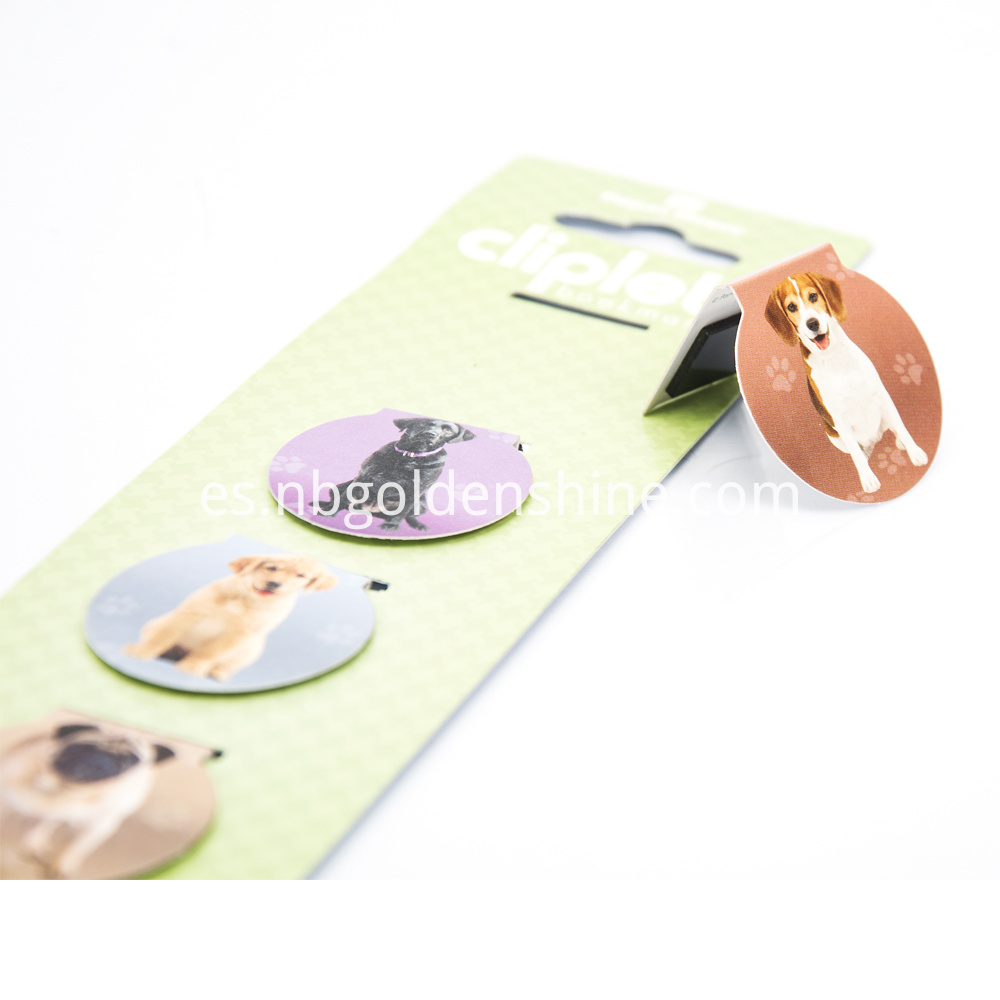 Foldable Magnet Book Mark In Dog Shape