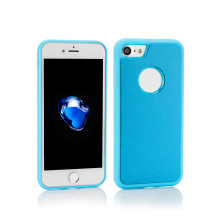 Shockproof Top Terserap TPU Clear Phone Case untuk iPhone 6/7/8