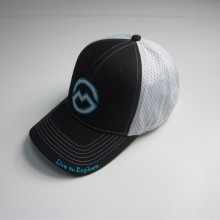 High Quality Soft Mesh Patch Flex fit Cap