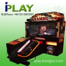 "55""Rambo Coin operated shooting game machine"
