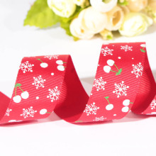 hot sale snowflake ribbon printed character ribbons for sale