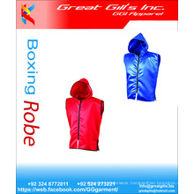 Custom made satin boxing robes