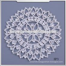 new design wedding dress accessories crystal Rhinestone applique