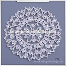 Новый дизайн свадебное платье аксессуары кристалл горный хрусталь аппликация