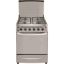 Gas Range S/S Gas Cooker Stove with 4 Burner with Oven