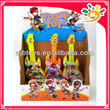 cheap plstic children toy electric guitar
