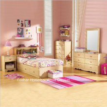 Lily Rose Kids Cama de solteiro Captain Storage Bedroom Set com 5PCS