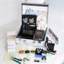 Kit de tatuagem profissional com 2 máquinas