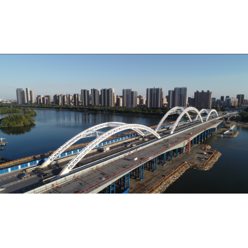 Prefabricated Steel Structure Pedestrian Truss Bridge