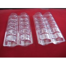Коробка Пластиковая Упаковка Макарон