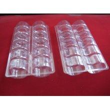 Boîte d'emballage en plastique Macaron