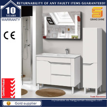 36 '' personalizado estilo europeo gabinete de baño caliente venta con las piernas