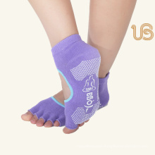 Anti Slip Yoga Sock with Open Toe