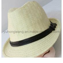 Новый дизайн мужчин соломенной шляпе, летняя спортивная кепка бейсболка