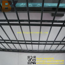 Twin Wire Fencing Double Welded Wire Mesh Fence