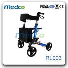 Cadre en aluminium handicapé rouleau panier RL003