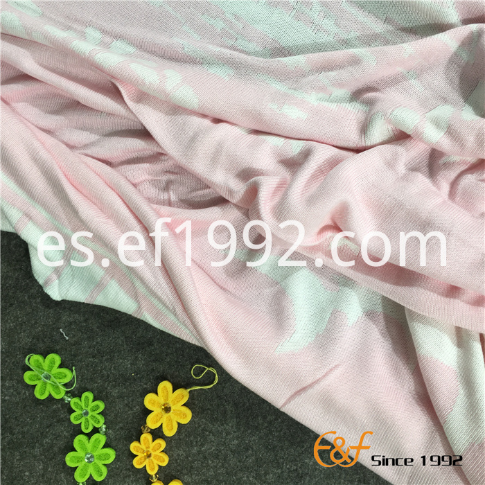 double color jacquard knitted throw blanket