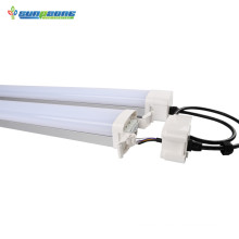 4ft 60w triproof led light used in chicken farm energy-saving lamp waterproof ip65 led triproof light