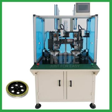Double Station Wheel Motor stator slot Paper Inserting Machine