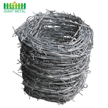 Eco-Friendly+Iron+Barbed+Wire+Mesh+Fence+For+Security