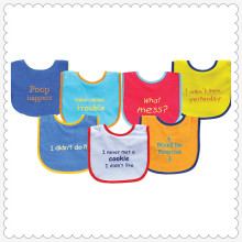 7 Piece Drooler Bibs with Waterproof Backing, Pink Balloon