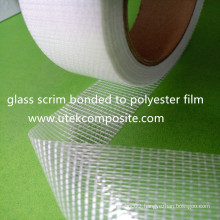 Glass Scrm / Polyester Film Laminated Cable Tape